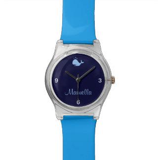 custom cute whale watch