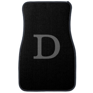 custom D initial letter Car Mat