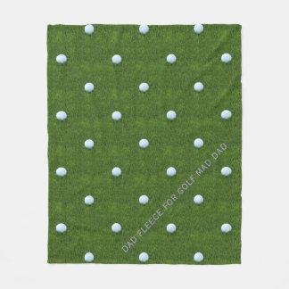 Custom Dad Fleece for Golf Mad Dad
