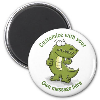 Custom Dancing Crocodile Cartoon Magnet