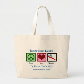 Custom Dentist Office Large Tote Bag