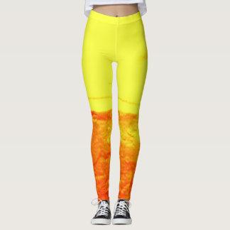 Custom DESIGN BY FRANK MOTHE. FIRE. Leggings