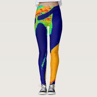 Custom DESIGN BY FRANK MOTHE.  Leggings