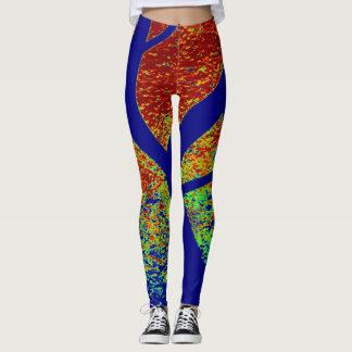 Custom DESIGN BY FRANK MOTHE.Leggings Leggings