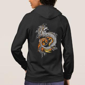 Custom Designed Asian Dragon Hoodie