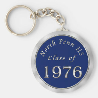 Custom Designed High School Reunion Keychains