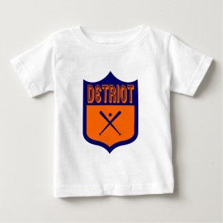 Custom Detroit Shield Design3 Baby T-Shirt