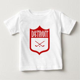 Custom Detroit Shield Design4 Baby T-Shirt