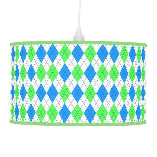 Custom Diamond Pattern Lamp