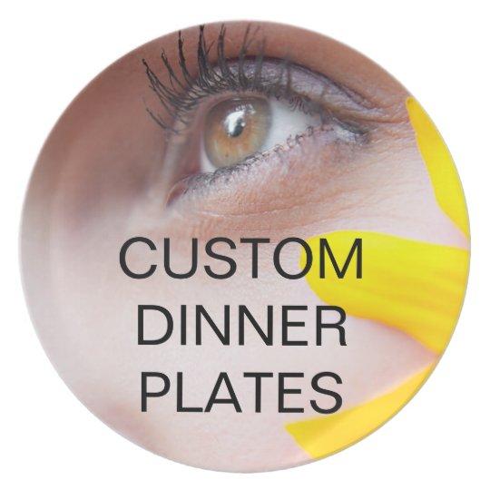 Custom Dinner Plates