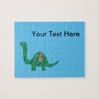 Custom Dinosaur Message Puzzle