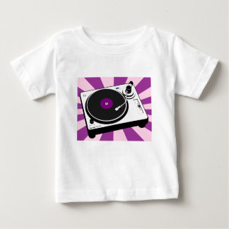 Custom Disco Turntable Retro Record Baby T-Shirt