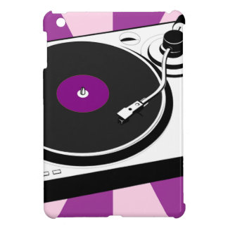 Custom Disco Turntable Retro Record iPad Mini Case