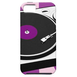 Custom Disco Turntable Retro Record iPhone 5 Cover