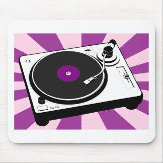 Custom Disco Turntable Retro Record Mouse Pad