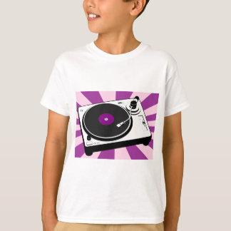 Custom Disco Turntable Retro Record T-Shirt