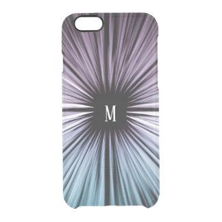 Custom Divine beautiful art rays colours joy Clear iPhone 6/6S Case
