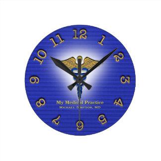 Custom Doctor Medical Clinic Clock