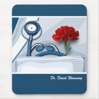 Custom Doctor's Name Gift Mousepad