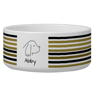 Custom Dog Cocker Spaniel Golden Black Stripes