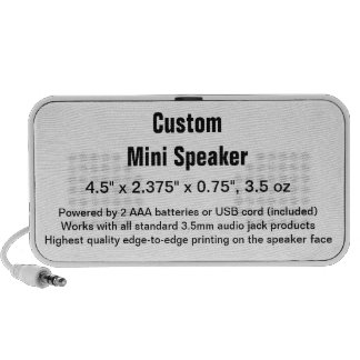 Custom Doodle by OrigAudio™ Speaker Template