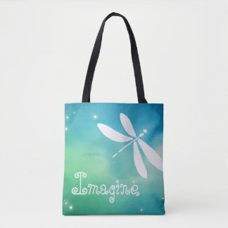 Custom Dragonfly Tote Bags