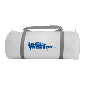 Custom Duffle Gym Bag - Blue Logo
