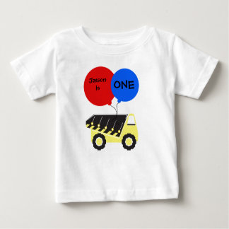 Custom Dump Truck Birthday T-shirt