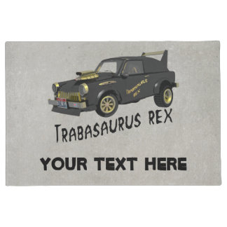 Custom East German Trabant Car Doormat