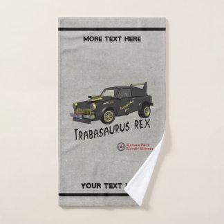 Custom East German Trabant Car Hand Towel
