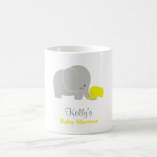 Custom Elephant Baby Shower Mug Party Favor