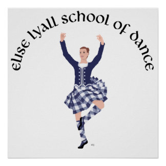 CUSTOM Elise Lyall School of Dance Poster