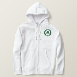 Custom Embroidered Zip Hoody