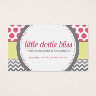 Custom Etsy Business Cards