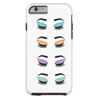 Custom Eyes Tough iPhone 6 Case