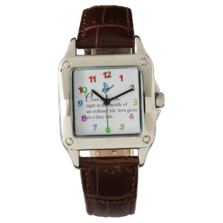 Custom Fairy Tale Butterfly Watch 1085 By Zazz_it