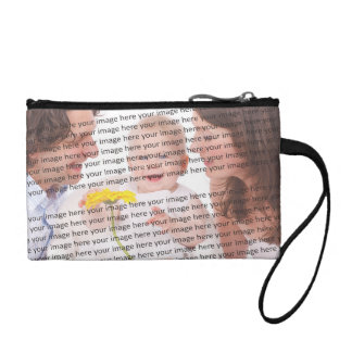 Custom Family Photo Coin Purse