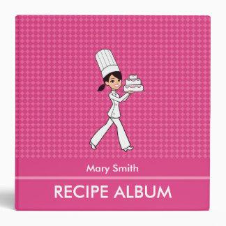 Custom Family Recipe Album With Kitchen Graphics Vinyl Binders