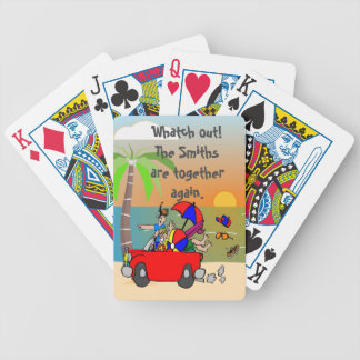CUSTOM  FAMILY REUNION /FUN FAMILY PLAYING CARDS