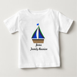 Custom Family Reunion Surname Shirt - Infant