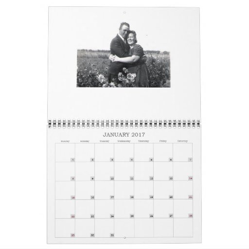 Custom Family Tree 2011 Calendar