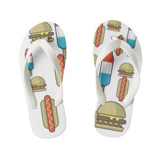 Custom Fast Food Flip Flops