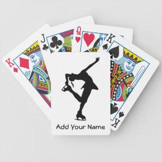 Custom Figure Skater Gifts Poker Deck