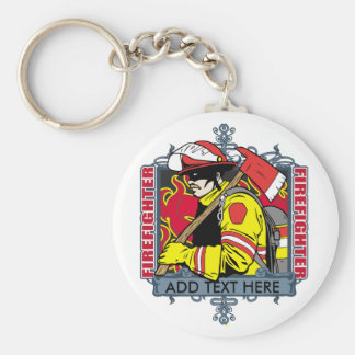 Custom Firefirefighter Keychain