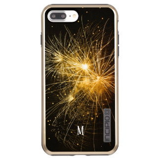 custom  fireworks golden light festival joy incipio DualPro shine iPhone 8 plus/7 plus case