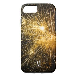 custom  fireworks golden light festival joy iPhone 8/7 case