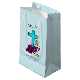 Custom First Communion Small Gift Bag