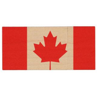 Custom   flash drive Canada flag