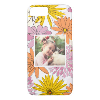 Custom floral framed picture iPhone 8/7 case