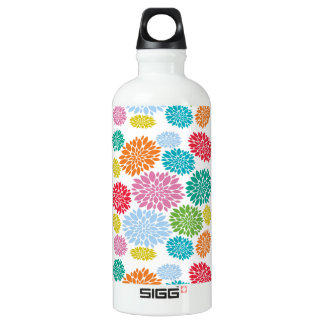 Custom Floral Water Bottle Gifts for Her